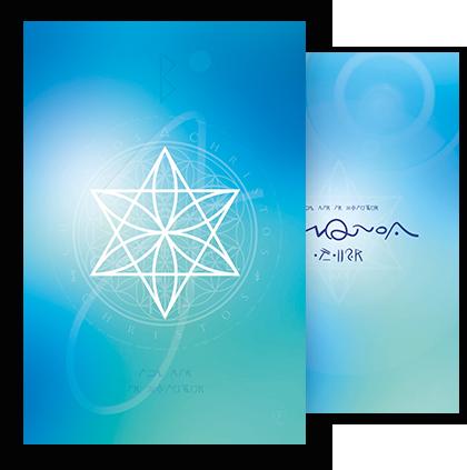 Energiekarte Harmonie und innerer Frieden