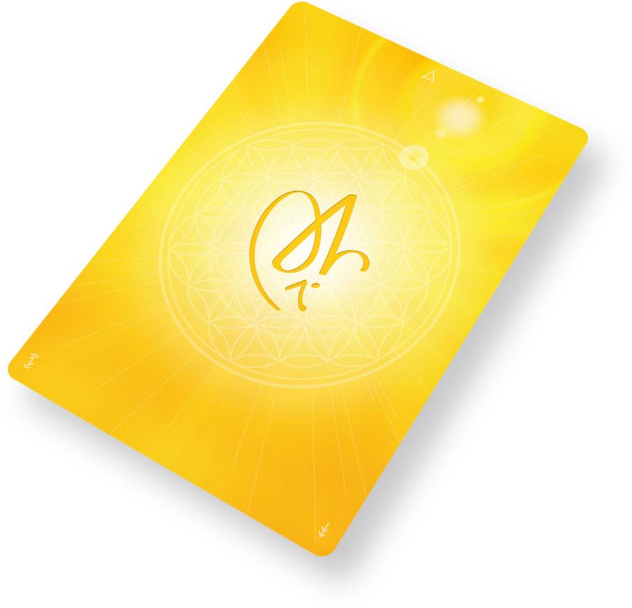 Christos-Energiekarte mit Yeshua Jesus Christus